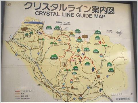 クリスタルラインマップ
