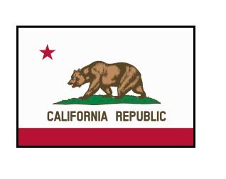 20141019カリフォルニア州の旗
