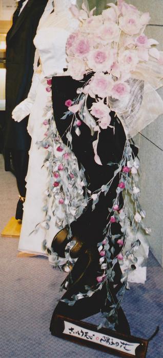 ブログ薔薇の装花3