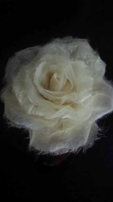 ブログ和紙の薔薇