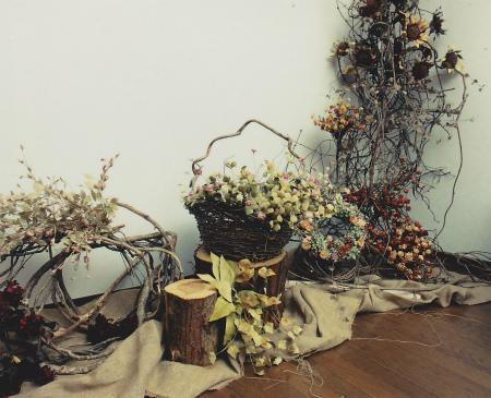 ブログ森の布花