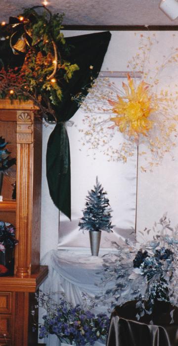 ブログクリスマスモミの木