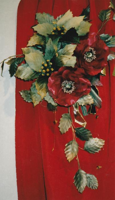 ブログ赤薔薇クリスマス1