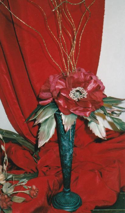 ブログ赤薔薇クリスマス