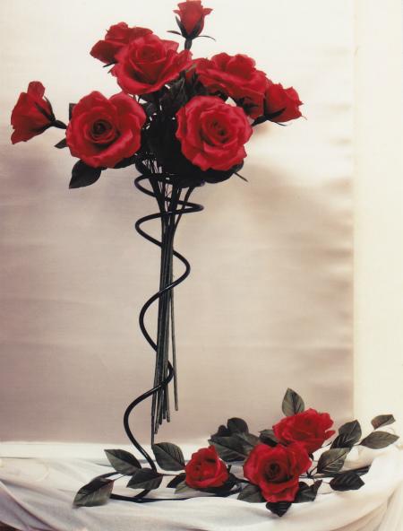 ブログ赤いバラの花束