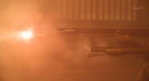 八重1210 会津も鉄砲で応戦
