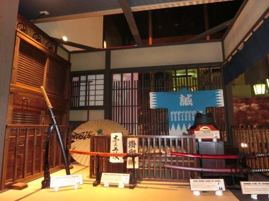 2階。 さながらミニ博物館。
