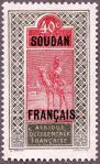 仏領スーダン加刷
