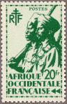 仏領西アフリカ・アフリカ兵(20フラン)