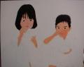 「7歳の夏祭り」塗り2回目