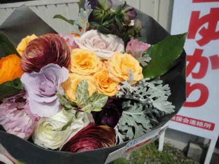ヨシダちひろ桂子さんからお花!2_convert_20130423232216