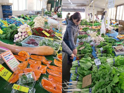 あいたび~野菜ソムリエと巡る鎌倉野菜市場&野菜食べ比べランチとワイヤークラフト体験