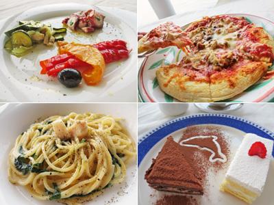 横浜・八景島シーパラダイス イタリアンレストラン センプリチェ
