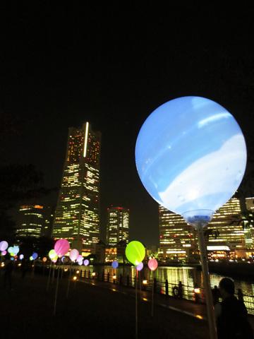 スマートイルミネーション横浜2012