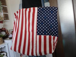 アメリカ国旗柄