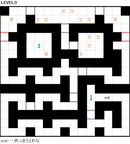 愚か者たちの洞窟LEVEL3
