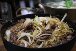 牛肉鉄鍋煮込み後