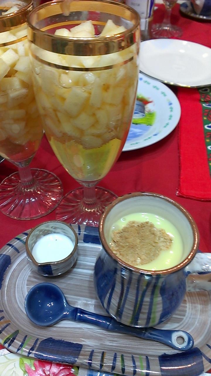 クリスマス コーンスープ