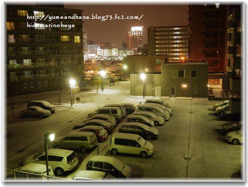 初雪121118