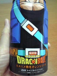 ドラゴンボール オレンジソーダ