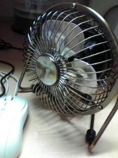 卓上扇風機