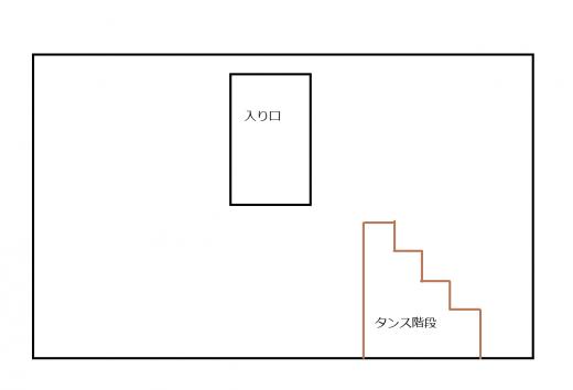 蔵の断面図