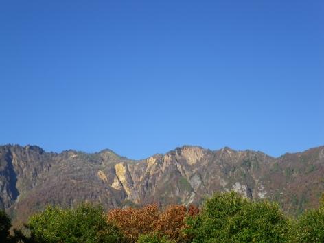 2014秋 のよさの里 鳥甲山