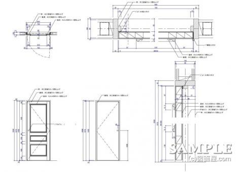 レディース_001ストック建具図