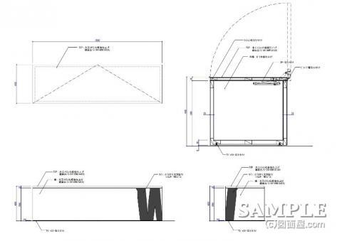 BOX什器図