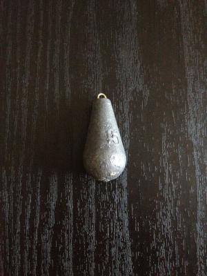 ナス型のオモリ