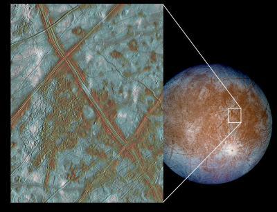 木星の第2衛星 エウロパ