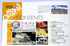 モデルグラフィックス2013年1月号 (ガールズ&パンツァー特集)