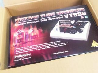 サウンドハウスの箱からVT999