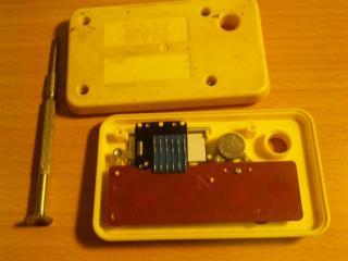シュウォッチボタン電池交換