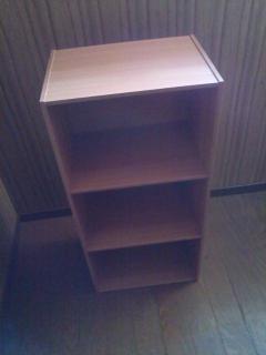 アイリスオーヤマECX-3カラーボックス組み立て完成
