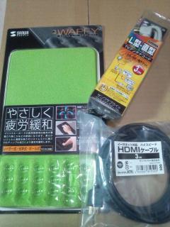 サンワダイレクトで売れてるマウスパッド&HDMIケーブル&アンテナケーブル