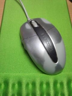 エレコムの5ボタンマウスが壊れた