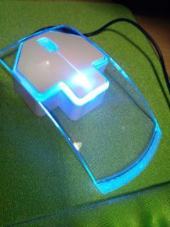 上海問屋のお洒落でシンプルな光るマウス