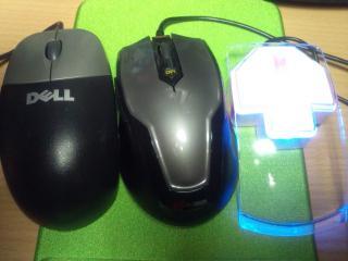 光学式マウスが3個
