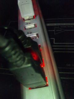 USBハブにマウス3個