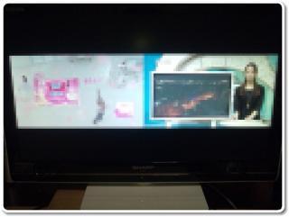 パソコンの地デジチューナーと液晶テレビでダブルチューナー