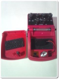 ベリンガーエフェクター電池交換