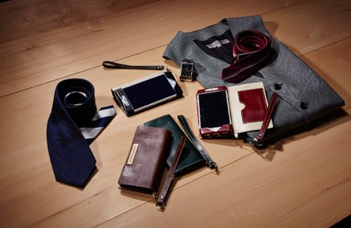 Thin Flip Case with Card Pocket