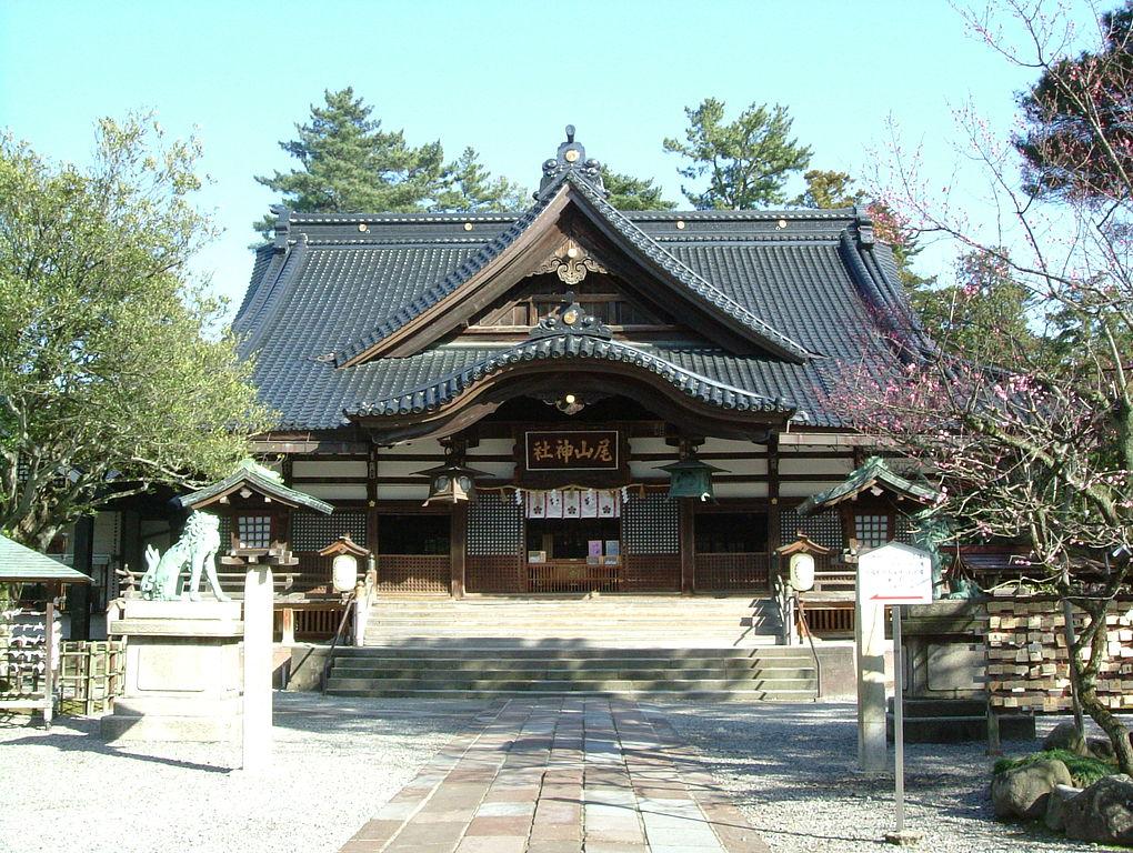 尾山神社_拝殿