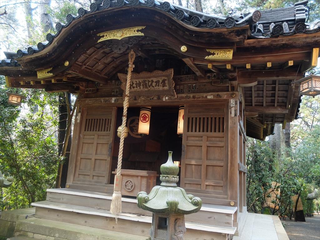 住𠮷神社内の金刀比羅神社_2