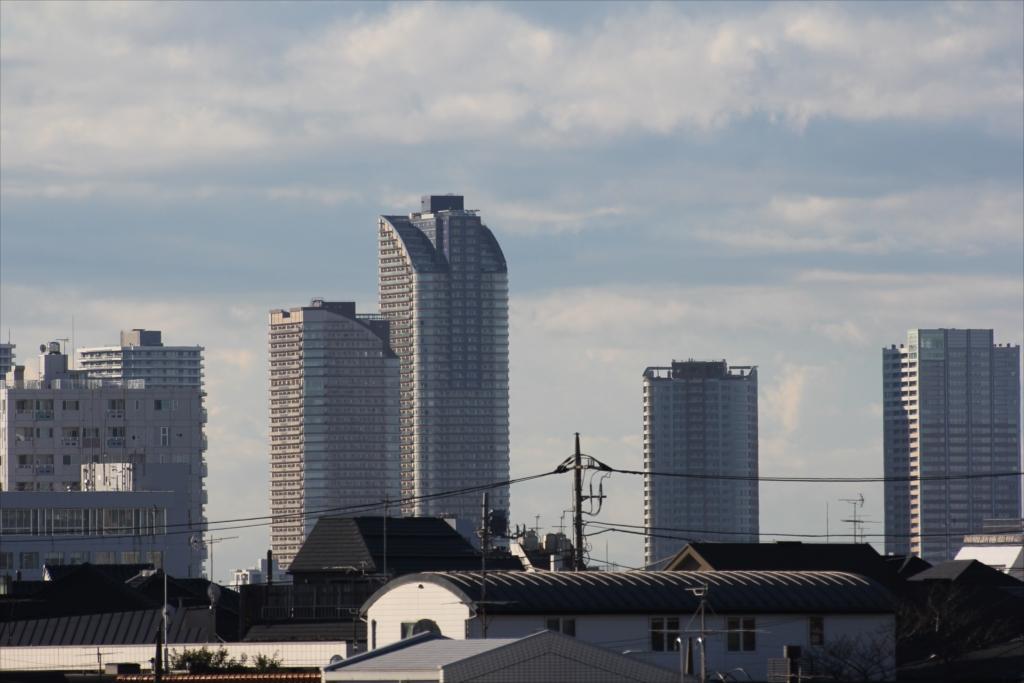 武蔵小杉の超高層マンション群