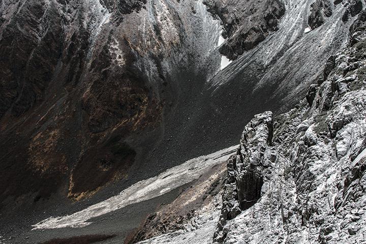 141023 新雪の斜面