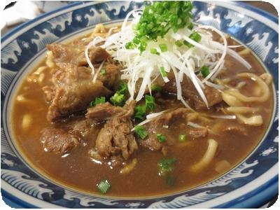 牛スジ煮込みカレー麺