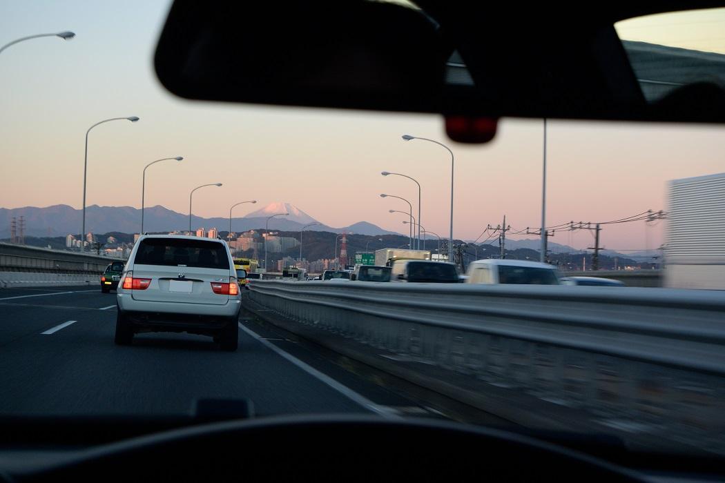 冠雪の富士を巡るドライブ(前編)