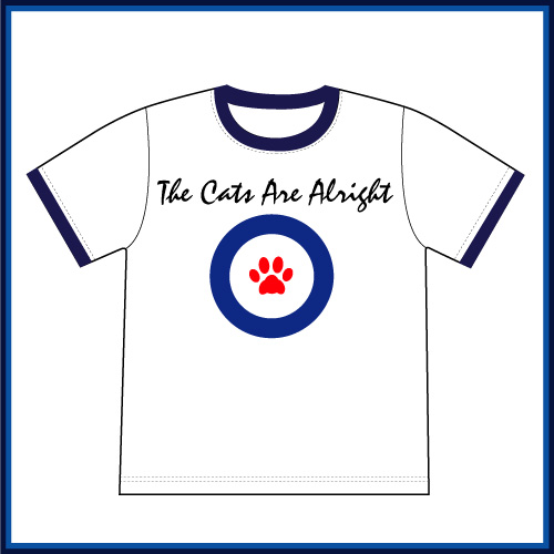 Niku Q Mods(ニクキュウモッズ)リンガーTシャツ